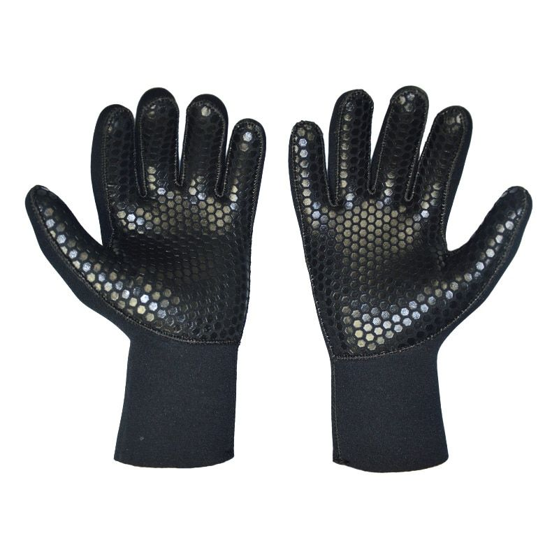 5mm Neoprene Diving Gloves for Spearfishing <font><b>Underwater</b></font> Hunting Fishing Swimmin Keep Warm Scuba Free Dive Gears Accessories Kayak