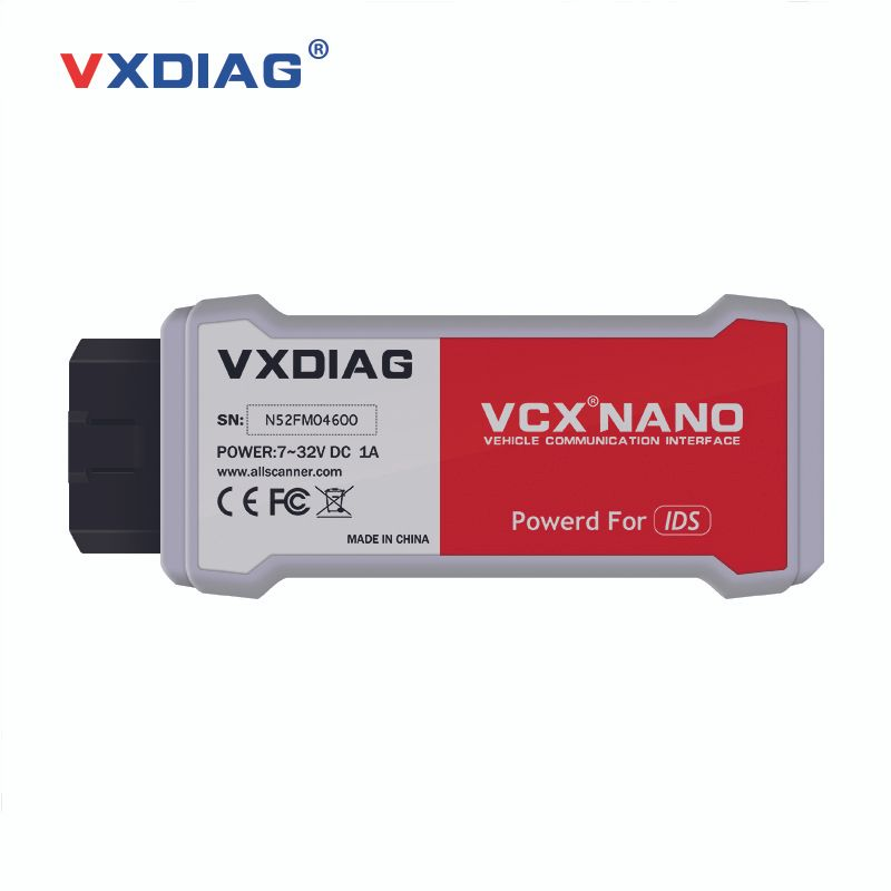 Originla VXDIAG VCX NANO for Ford/Mazda 2 in 1 with IDS V101 V104 Perfect replacement for Ford VCM II 2 Update online Free ship