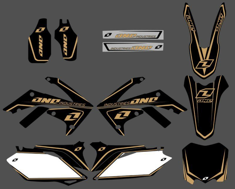 GRAPHICS&BACKGROUNDS DECAL STICKERS Kits for Honda CRF250R CRF250 2010-2013 & CRF450R CRF450 2009-2012 CRF 250 250R 450 45R
