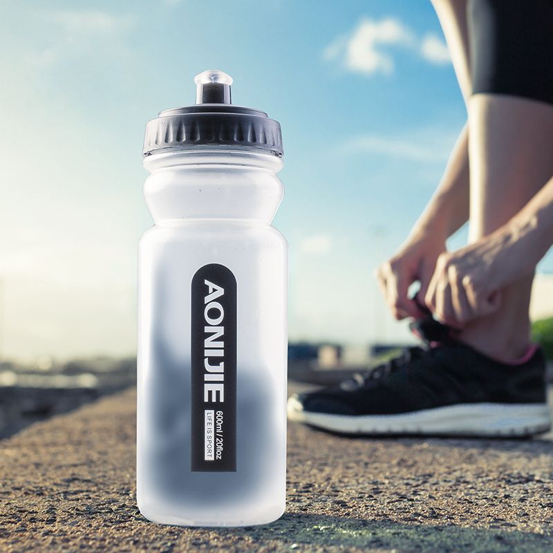 600ml Bicycle Water Bottle Cycling Bike Kettle Running Sport Bottle Hiking Climbing Gym Fitness Drinking Flask Without BPA