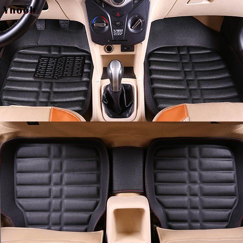 Auto car carpet foot floor mats For hyundai santa fe 2007 fe 2011 solaris 2017 elantra i30 i40 i10 i20 2010 2013 car mats