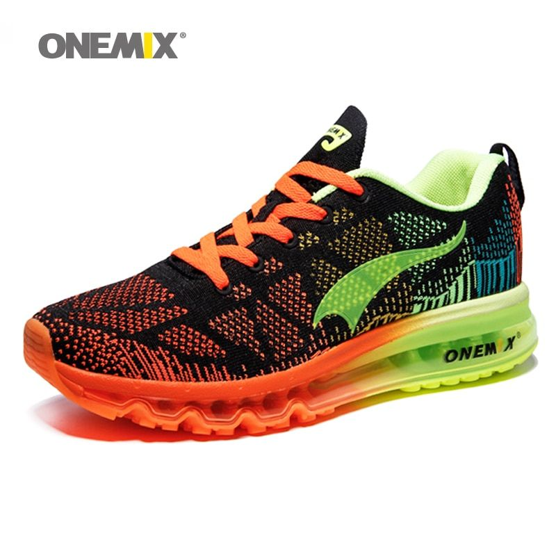 ONEMIX Men Women Air Running Shoes for Men Super Light Shoes Max Brand Women Sport Sneaker Breathable Mesh Athletic Outdoor Shoe