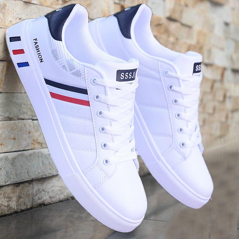 Printemps nouvelles chaussures décontractées hommes tendance respirant chaussures pour hommes