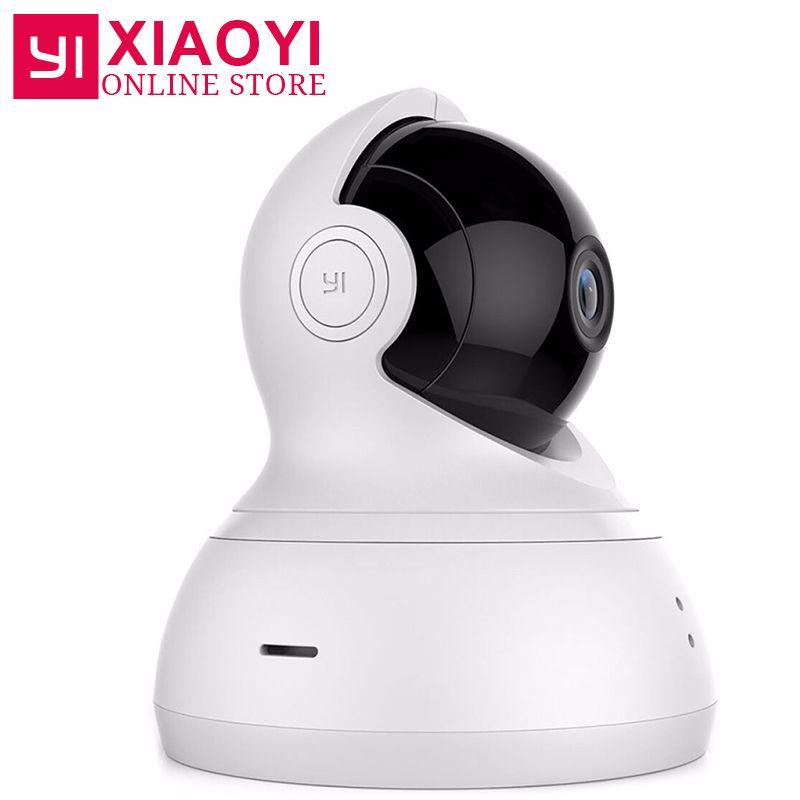 [International Edition]YI Dome Camera 720P Pan/Tilt/Zoom Wireless IP Home Camera Xiaomi YI Infrared Night Vision Baby Monitor