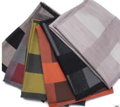 Новый решетки шерстяные шарфы расширились мерсеризованная шерсть зимние теплые продавать платок