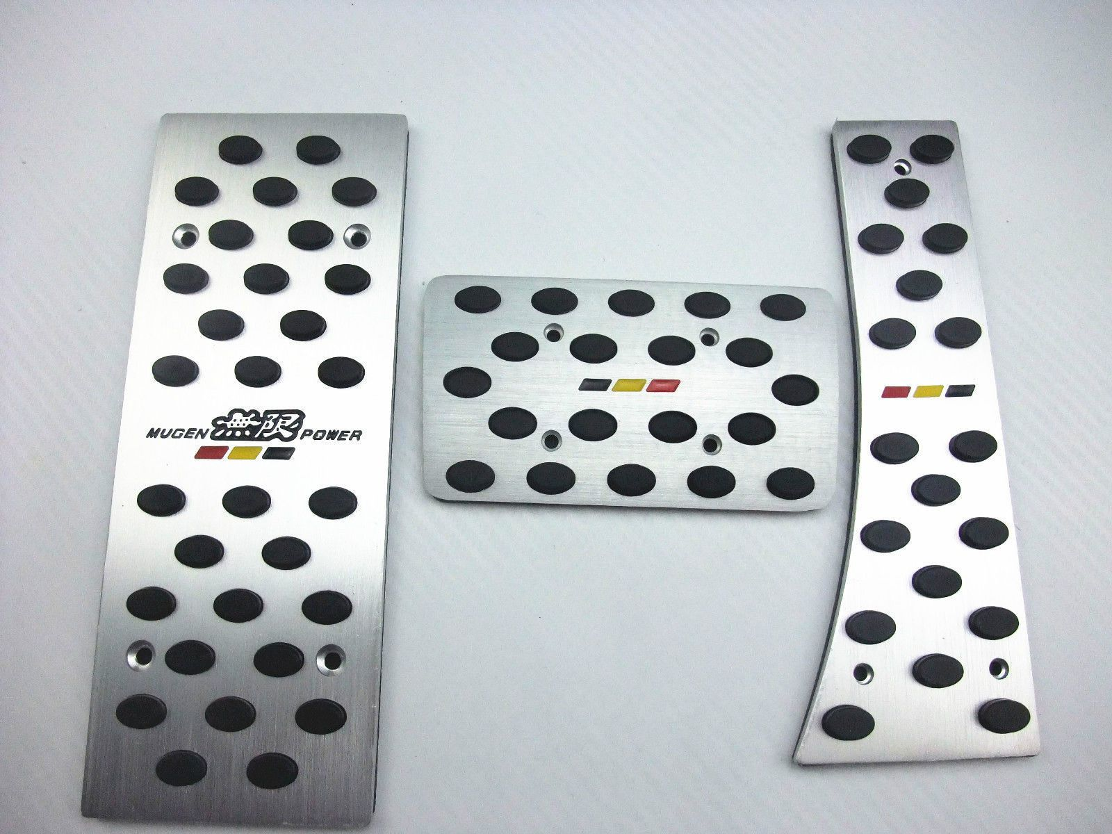 XYIVYG Car Styling AT Aluminum Mugen Foot Rest Pedals for Honda Civic 06-11 FD1 FD2 FG1 FG2 FA1 FA5