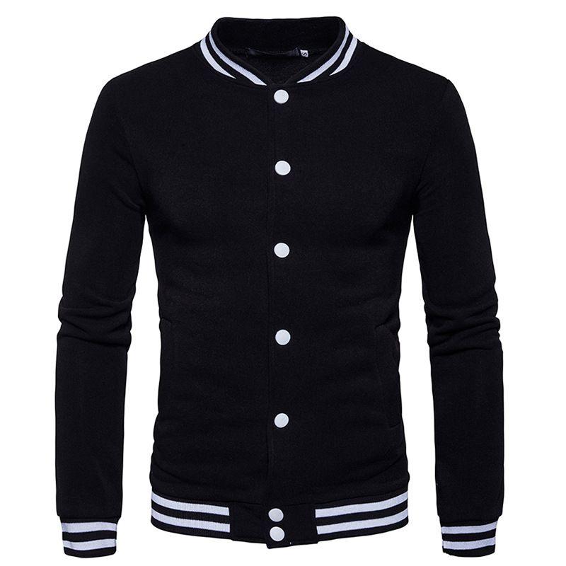 Slim Fit Колледж Varsity мужские Пальто для будущих мам и Куртки 2017 зимние хип-хоп мужской Бейсбол куртка повседневные кофты jaqueta masculina