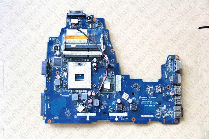 K000111440 PWWAA LA-6842P für TOSHIBA Satellite C660 laptop motherboard DDR3 Freies Verschiffen 100% test ok