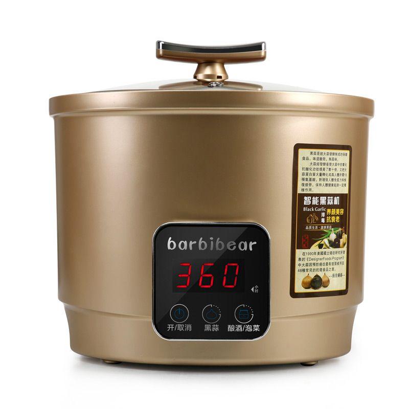 110/220V 6L Intelligent Electric Black Garlic Machine Household DIY Automatic Zymolysis Maker Zymosis Pot EU/AU/UK/US Plug