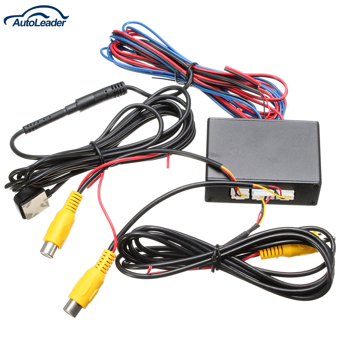 New Intelligent control car camera video switch(car video automatic switch) connect front or side/ rear <font><b>cameras</b></font>