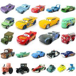 Disney Pixar Cars 3 27 Styles Foudre McQueen Mater Jackson Tempête Ramirez 1:55 Diecast Metal Alliage Modèle Jouet Cadeau De Voiture Pour enfants