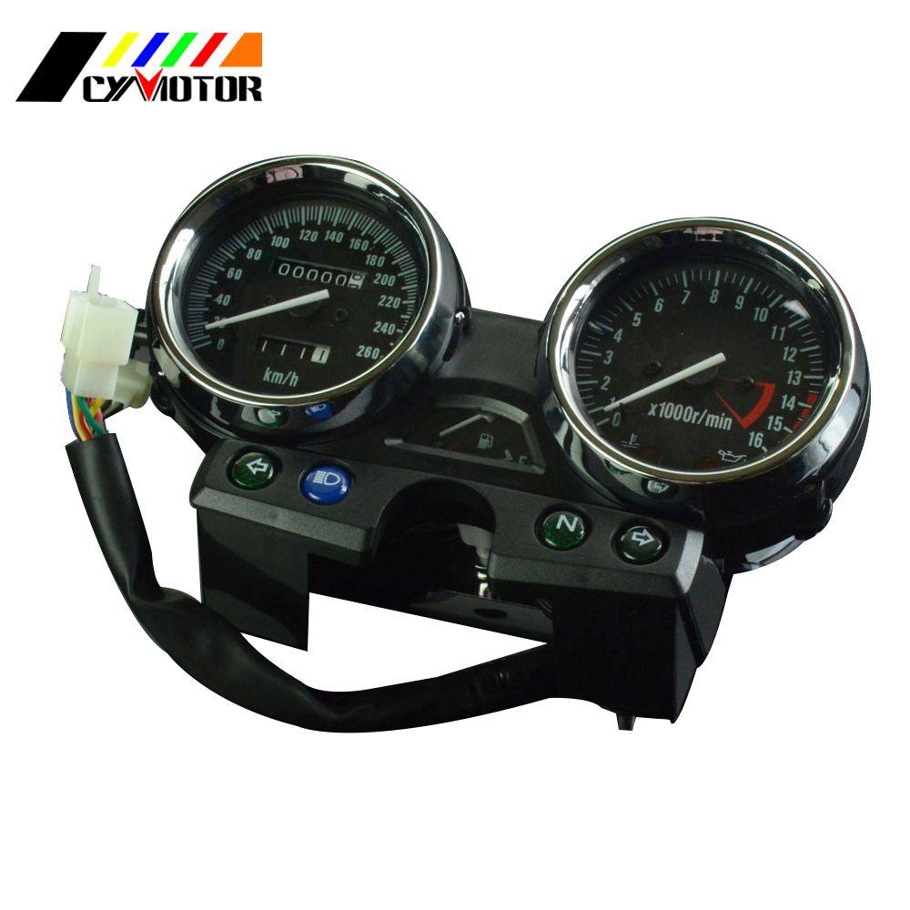 Motorrad Gauges Cluster Lcd-computer-geschwindigkeitsmesser-grüne Tachometer Für KAWASAKI ZRX400 ZRX750 ZRX1100 ZRX 400 750 1100 94 95 96 97