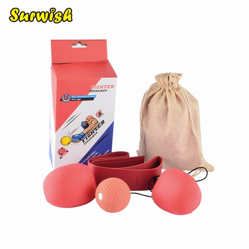 New Boxing Punching Training Speed Ball Tennis Punch Training Fitness <font><b>Sports</b></font> Practical Speed Balls Fitness Equipment Fast Gym