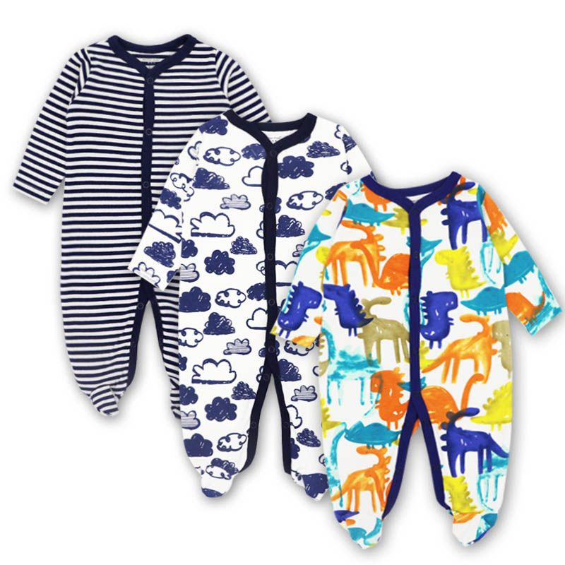 Baby Clothing Newborn jumpsuits Baby Boy Girl Romper Clothes Long Sleeve Infant Product 2018 NewBaby Clothes