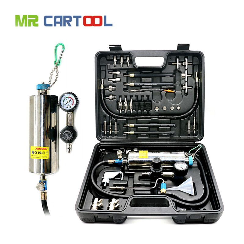 AUTOOL C100 Car Fuel Injectore Cleaner Non-dismantle Bottle Gasoline Auto Fuels Injector Cleaning And Testing System
