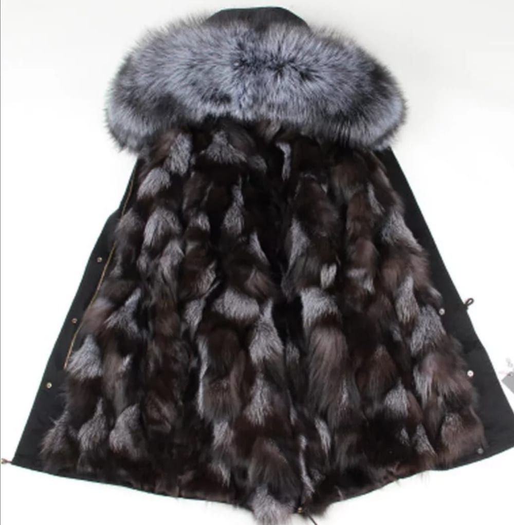 real fur parka woman winter parkas women long real fur coat big raccoon fur collar hooded parkas thick outerwear stree style