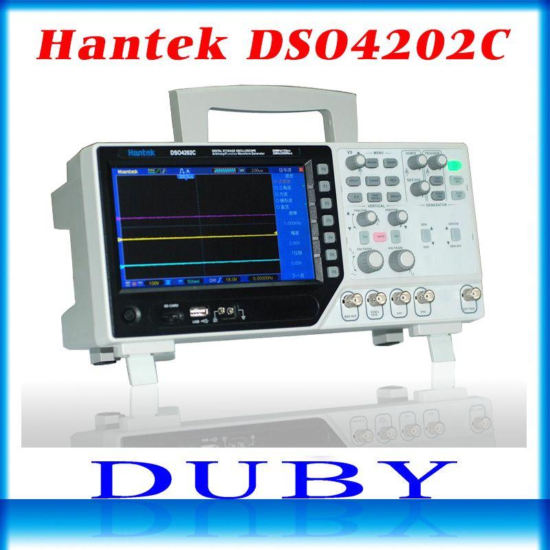 Hantek DSO4202C 2 Channel Digital Oscilloscope 1 Channel Arbitrary/Function Waveform Generator