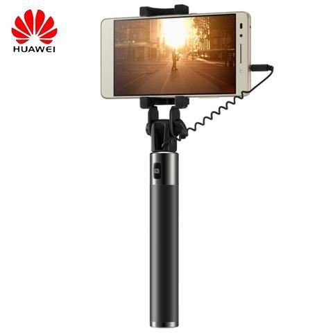 D'origine Huawei Honneur filaire Selfie Bâton monopode Filaire Extensible De Poche D'obturation pour Huawei iPhone Android téléphone intelligent