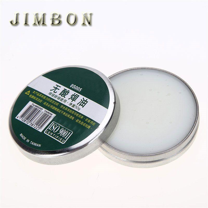 8S005 Soldering Paste Without Acid Welding Oil Solder Paste 50g Soldering Tool Parts