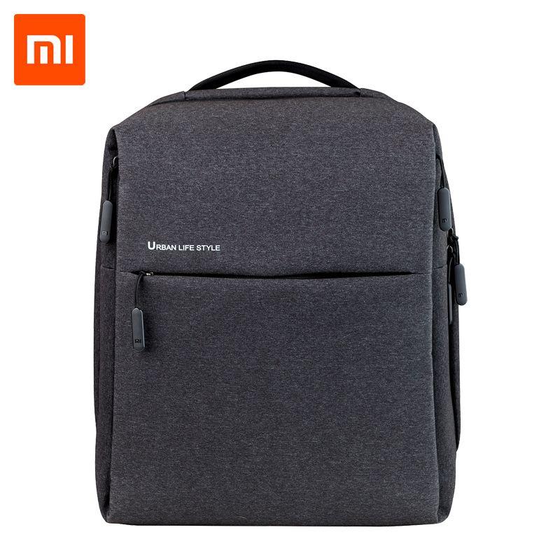 Original Xiaomi Mi <font><b>Backpack</b></font> Urban Life Style Shoulders Bag Rucksack Daypack School Bag Duffel Bag Fits 14 inch Laptop portable