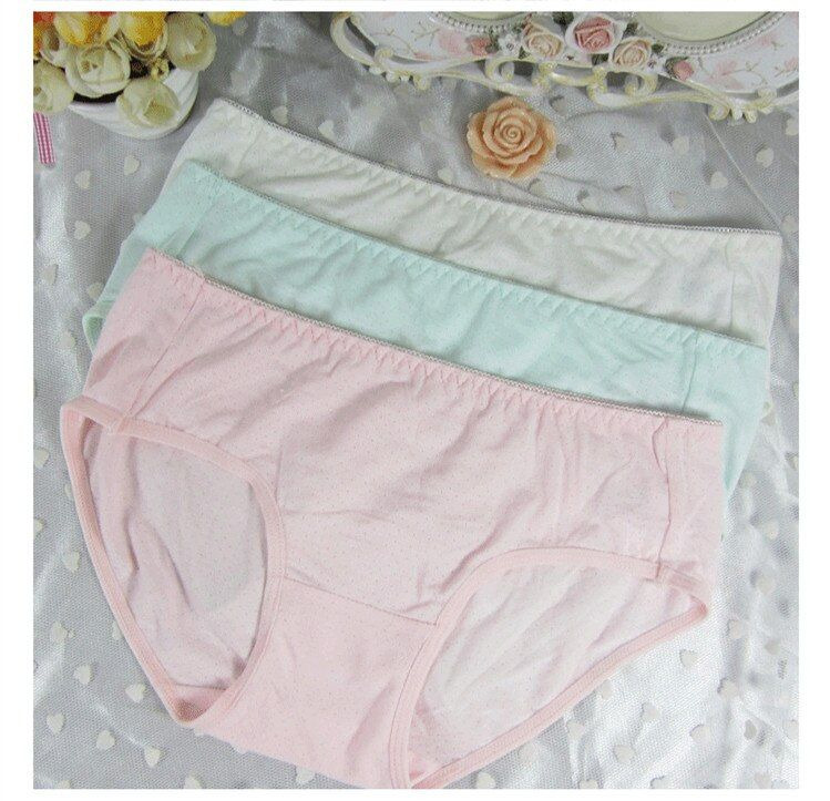 Women Brief <font><b>Japanese</b></font> Girl Sweet Comfortable Soft Carry Buttock Breathable Bikini Underwear