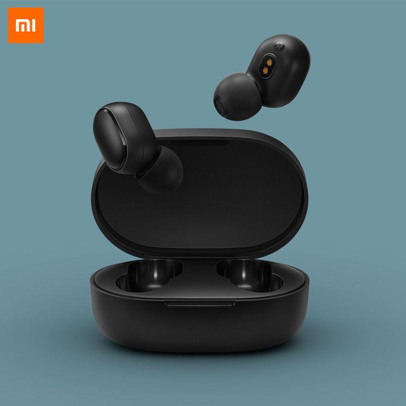 Original Xiaomi Redmi AirDots TWS Wireless Bluetooth Earphone BT 5.0 MI Stereo Headset With Mic Headphones Earbuds