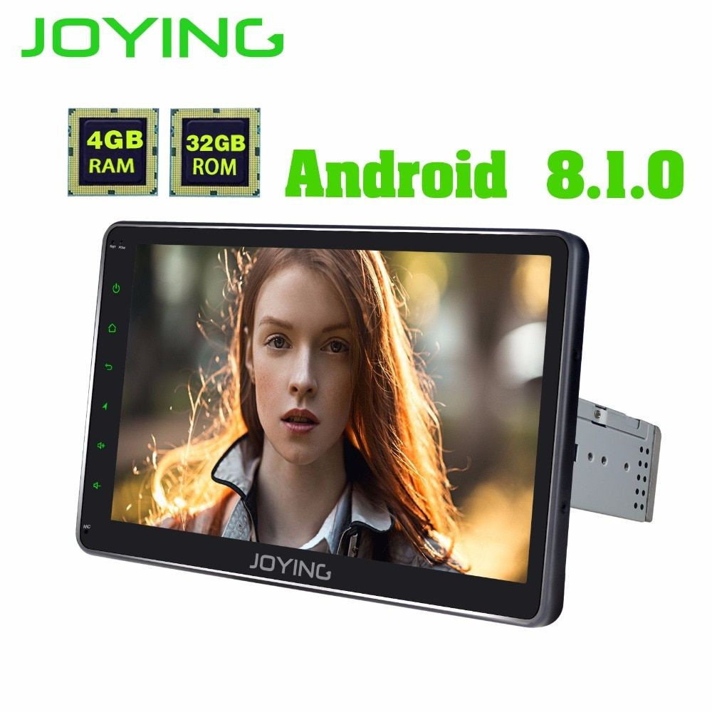 Android 8.1 auto radio kopf einheit universal 1din 10,1 4 GB Octa Core HD Screen GPS dsp navigation audio Media Player band recorder