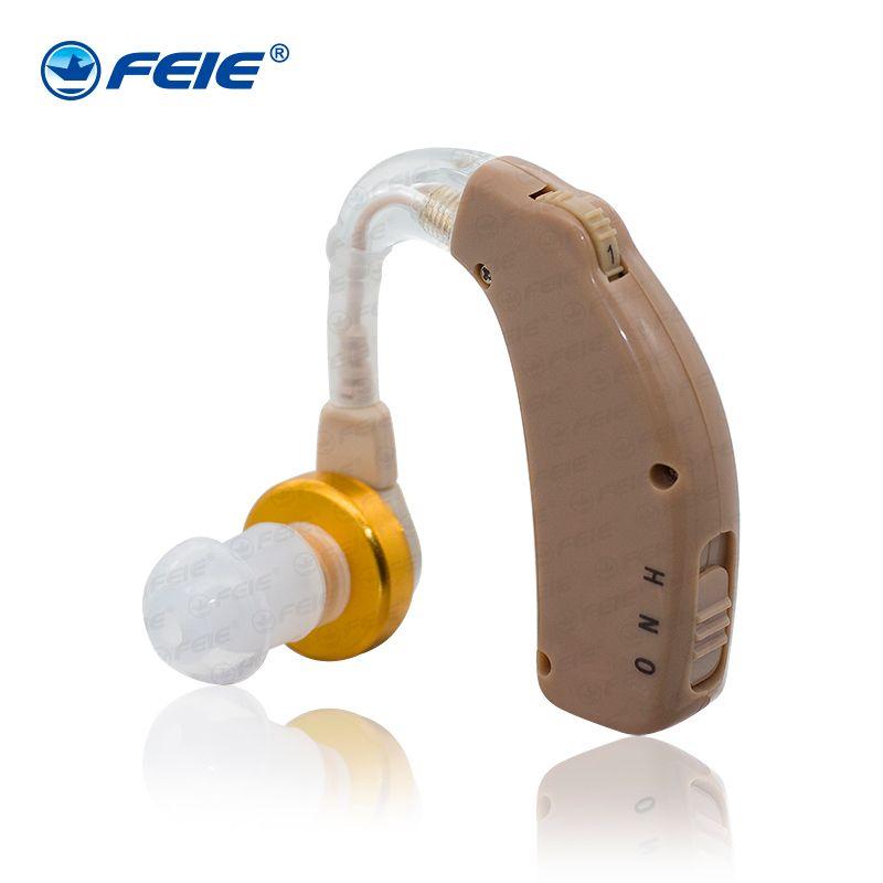 USB Audifonos Surdez Cheap BTE Elderly Hearing Aid Rechargeable Ear C-108 Powerful Sound Amplifier Hot Sale in 2018