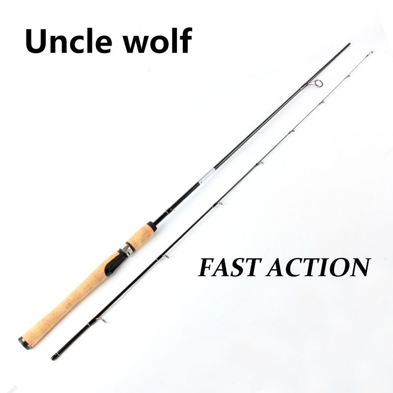 Fast Action L 1.8m 3-10g Lure Wt 2-8LB Line wt Lure Carp Spinning Fishing Rod Carbon Fishing rod China Ultralight Spinning Rods