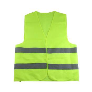 Жилет одежда движение мотоцикл ночной всадник зеленый-желтый Безопасность видимость светоотражающий Велоспорт Спорт на открытом воздухе