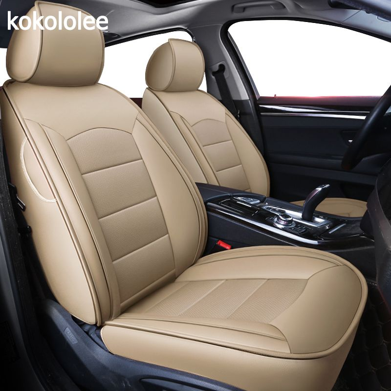 Kokololee individuelle echt leder auto sitz abdeckung Für audi TT R8 a1 a3 8 p 8l sportback A4 A6 A5 a7 a8 a8l Q3 Q5 Q7 auto zubehör