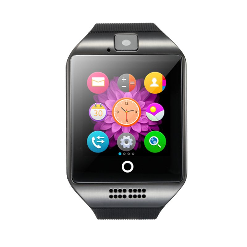 Kaisgo Q18 Bluetooth Smart Watch With Camera facebook Sync SMS MP3 WristWatch Support Sim TF For IOS Android Phone pk GT08 DZ09