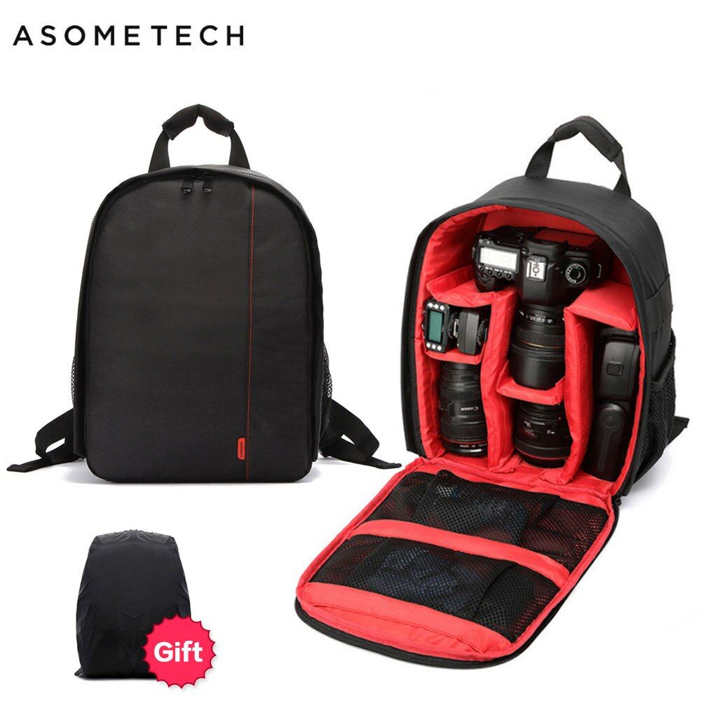 Sac Photo numérique Dslr sac étanche antichoc respirant sac à dos pour Nikon Canon Sony petit sac Photo vidéo sac à dos