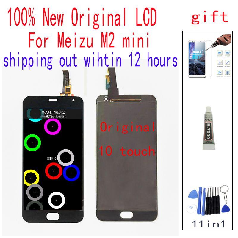 D'origine LCDFor Meizu M2 Mini numériseur à écran tactile Affichage 5.0