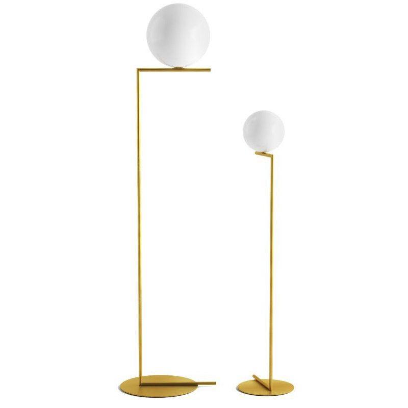 Creativa simple lámparas de suelo de la bola de cristal cromo lámpara de pie oro para salón dormitorio nuevo diseño de arte la decoración del hogar iluminación