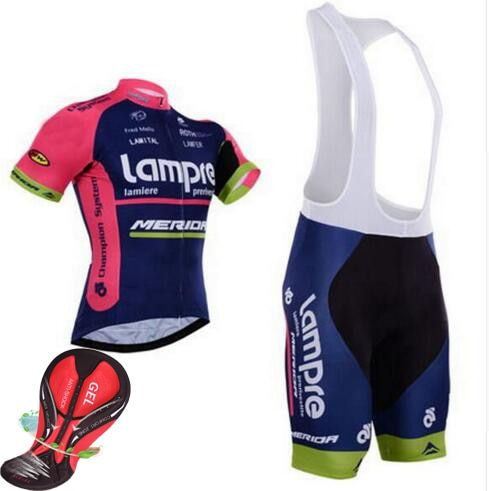 outdoor sport ropa maillot ciclismo clothes Jersey lampre merida cycling clothing mtb bike bicycle jersey wear quick dry