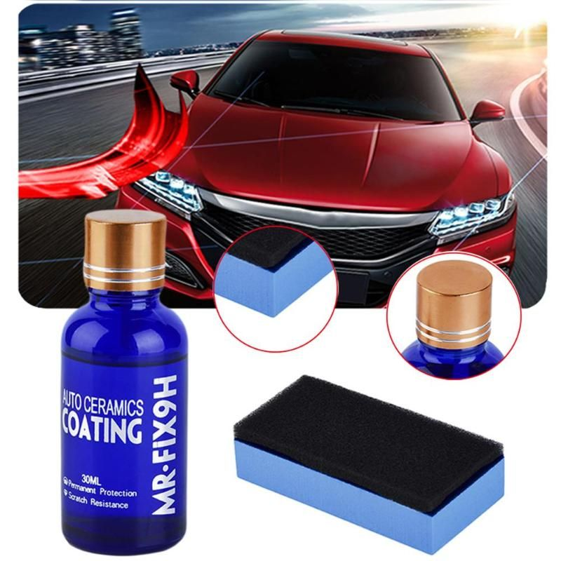 1Pcs Anti-scratch Car Polish Car Liquid Ceramic Coat Auto Detailing Glasscoat Motorcycle Paint Care Super Hydrophobic Glass Coat