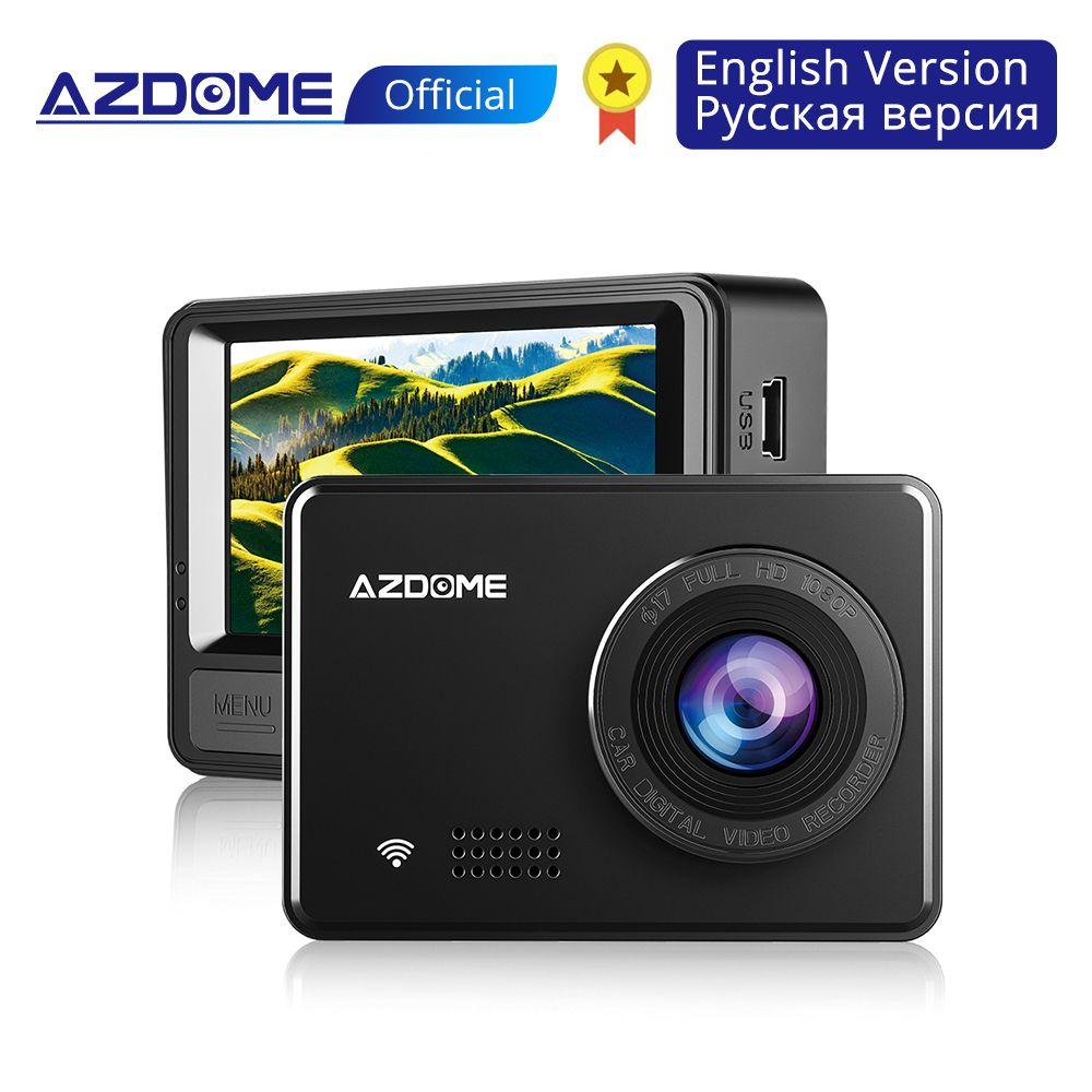 AZDOME M08 1080P Super condensateur Dash Cam 2.45 caméra de voiture IPS avec WiFi WDR Sony capteur enregistreur dvr de voiture Vision nocturne Dashcam