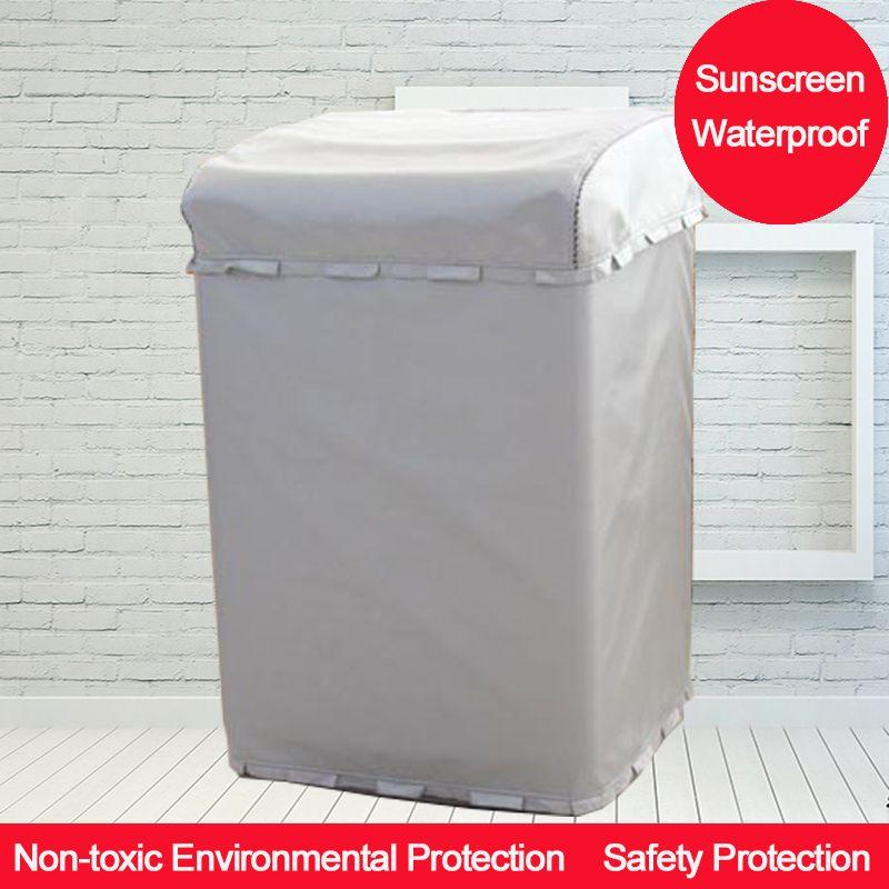Protection solaire argentée au-dessus de la couverture de Machine à laver d'ouverture pour la maison avec le revêtement d'argent de Polyester antipoussière et imperméable