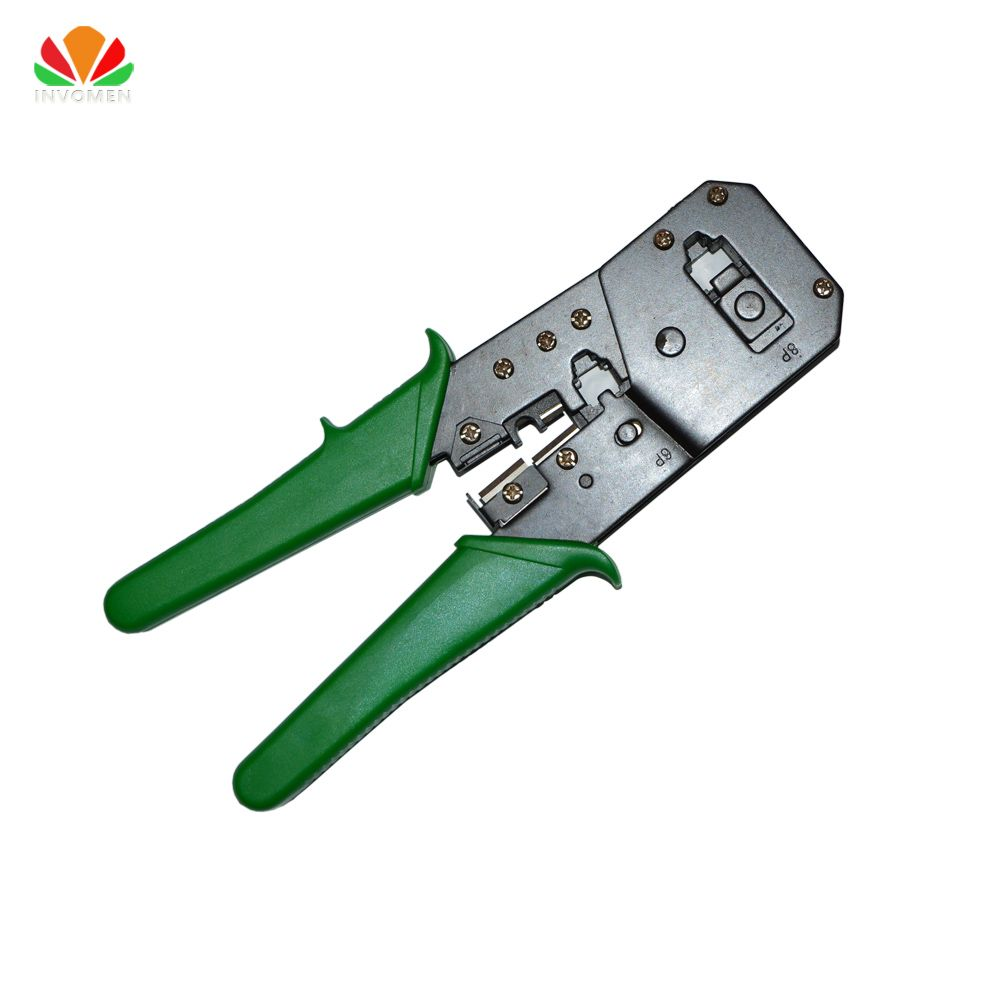 RJ45 Network cable Crimper RJ11 telephone line modular crimping pliers 8p8c 6p6c 4c Crystal Head making wire Stripping cut Tool