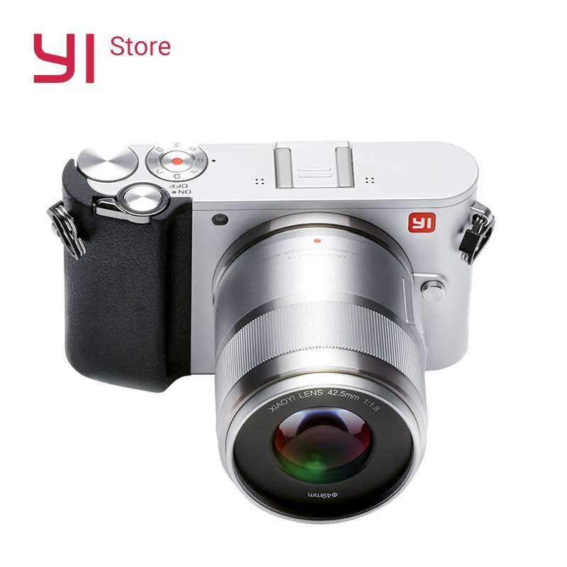 YI M1 Spiegellose Digital Kamera Prime Zoom Zwei Objektiv LCD Minimalistischen RAW 20MP Video Recorder 720RGB Internationalen Version