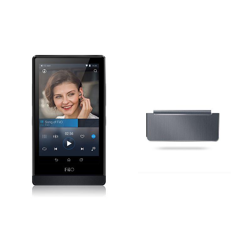 FiiO Salut-Res basé sur Android WIFI Bluetooth Sans Perte DSD Portable Musique Musique Lecteur X7 avec Amplificateur Module AM2