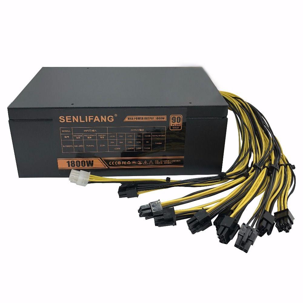 1800 watt netzteil Ant S7 A6 A7 S7 S9 L3 BTC miner maschine server bergbau board power supply Kostenloser versand