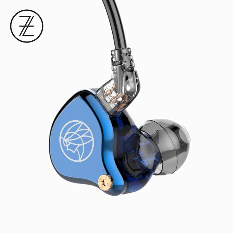 TFZ T2 Galaxy Graphene Dynamic Driver HiFi In-ear Earphone with 2Pin/0.78mm Detachable cable 16ohm 110dB 1.2m IEM