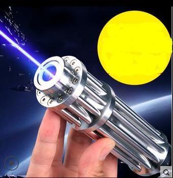 حار! المصباح عالية الطاقة 5000000 متر الليزر 450nm الليزر الأزرق حرق مباراة/حرق السيجار ضوء/شمعة/أسود الصيد