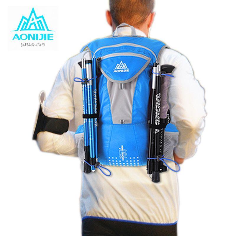 2017 AONIJIE Lauf Nylon Rucksack 12L Outdoor Leichte Hydratation Pack Sporttasche Klettern Radfahren Wandern Laufen Tasche