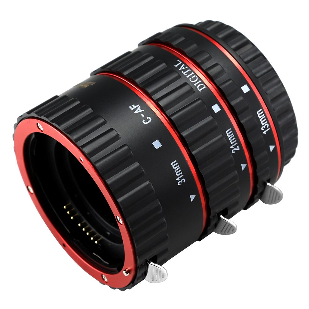 SHOOT Auto Focus Macro Extension Tube Set for Canon EOS EF EF-S Lens DSLR Cameras 1100D 700D 650D 600D 550D 500D 450D 400D 350D