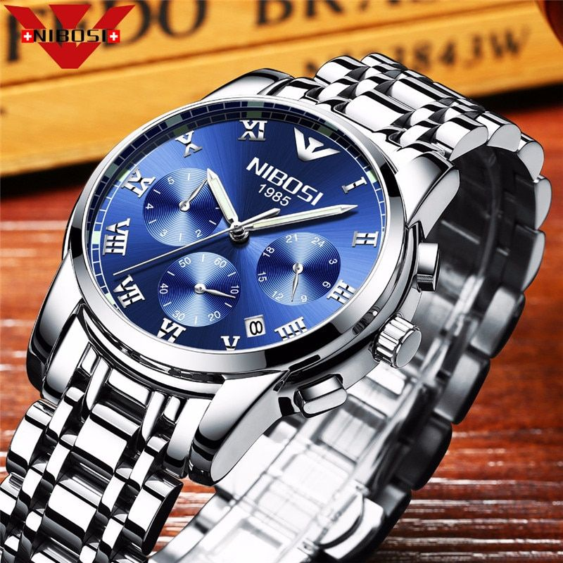 Cost Price New Gentleman Watch Fashion Stainless Steel Watch for Man Quartz Analog Wrist Watch Hot Sales Father's Day Gift