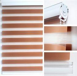Zèbre Store/Filtrant La Lumière Pure Ombre (SUR MESURE-Nous Dire Dimensions de Votre Windows)-à l'intérieur et À L'extérieur de Montage