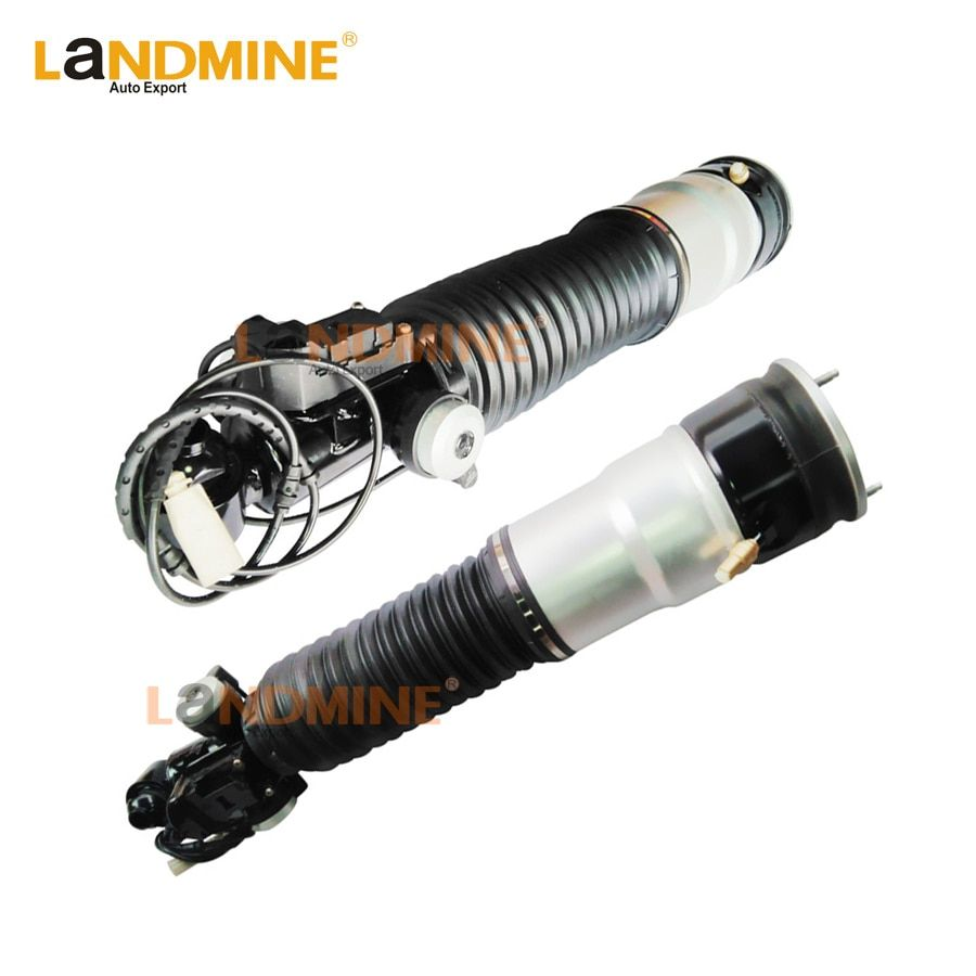 Free Shipping 2PCS Rear Air Ride wSuspension Air Spring Shock Absorber Air Strut Fit BMW F01 F02 750Li 37126796929 37126796930